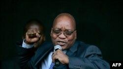 Južnoafrički predsednik Džejkob Zuma tokom govora 29. novembra 2017. godine
