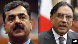 درخواست استعفای رئیس جمهور و صدر اعظم پاکستان