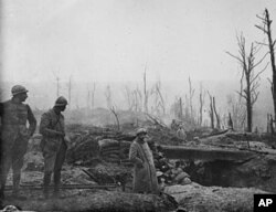 一次大战中的壕沟战