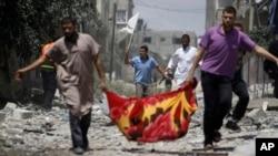 Сектор Газа, 20 июля, 2014.