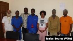 Jovens detidos em Malanje recebem visitas da OMUNGA