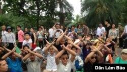Người Việt tiếp tục xuống đường biểu tình vụ cá chết