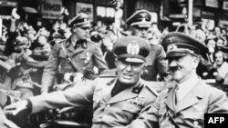 Муссолини и Гитлер, 1939 г.