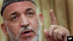 하미드 카르자이 아프가니스탄 대통령(자료사진)