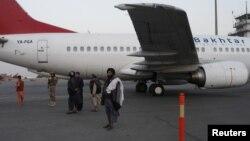 თალიბები ქაბულის აეროპორტში