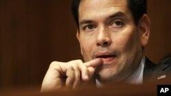 Rubio, quien participaba en una audiencia sobre Venezuela, pidió que se incluya a Merino en una lista de sancionados por Estados Unidos.