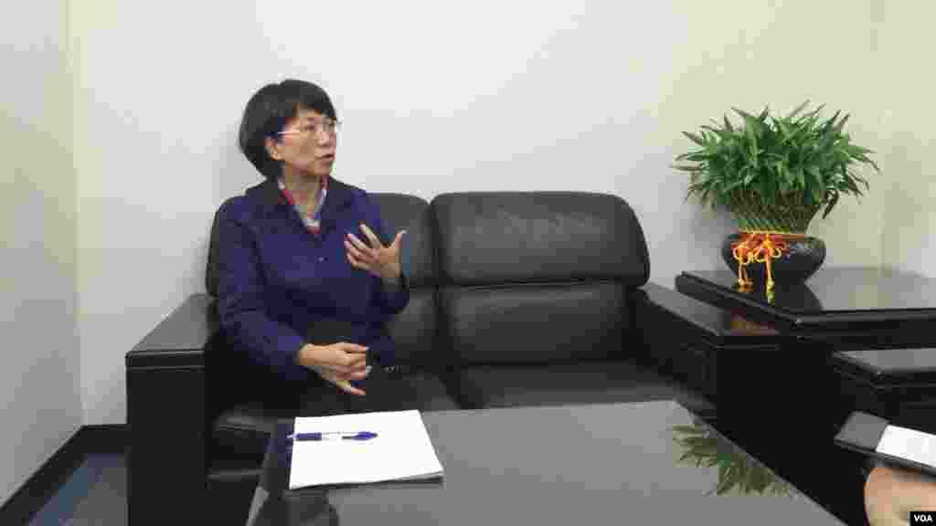 美国之音星期一独家采访了国民党副总统候选人王如玄