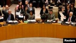 지난 3월 유엔 안전보장이사회에서 대북 제재를 강화하는 새 결의를 채택했다.