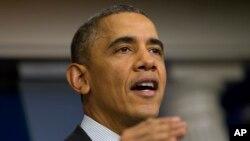 عکس آرشیوی از باراک اوباما رئیس جمهوری ایالات متحده آمریکا