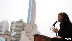 Cristina Fernández anticipó que en los últimos doce meses, de mayo a mayo, fue del 9,9% del PBI.