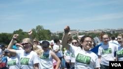 美国女童军华盛顿庆祝成立百年