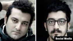 مهدی رجبیان(سمت راست) و حسین رجبیان