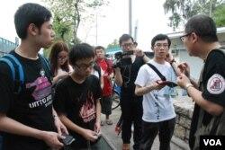 香港北區水貨客關注組最近首次舉辦「水貨導賞團」帶領參加者深入了解上水區水貨客的活動情況