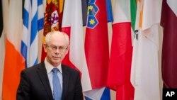 Herman Van Rompuy, presidente da União Europeia
