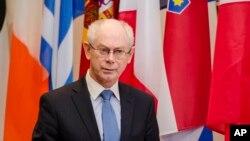 Presiden Dewan Eropa, Herman Van Rompuy (Foto: dok).