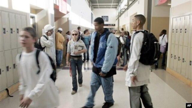 Siswa-siswa Sekolah Menengah Atas Ballard di Seattle. (Foto: Dok)