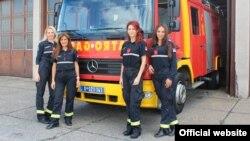 Žene vatrogasci u Srbiji (Foto: MUP Srbije)