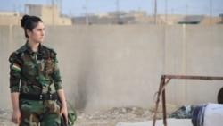 """Perempuan Pejuang Yazidi: """"Kami Harap Bertempur"""""""