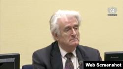 Radovan Karadzic, La Haye, le 10 octobre 2017