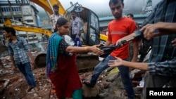 Mumbai Apartment Building Collapses