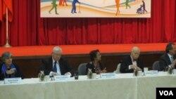 國際人權專家團建議台灣廢除死刑(美國之音張永泰拍攝)