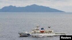 Lực lượng Tuần duyên Nhật tuần tra gần đảo Senkaku (Trung Quốc gọi là đảo Điếu Ngư).