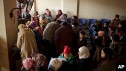 黎巴嫩的敘利亞難民。(2013年12月18日資料照片)