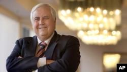 Clive Palmer, seorang politisi kaya dan taipan pertambangan Australia. (Foto: dok.)