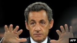 Fransa Cumhurbaşkanı Nicolas Sarkozy