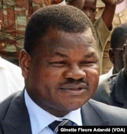 Barthélémy Kassa, ancien ministre de l'eau et de l'énergie au moment des faits, au Bénin, le 22 mai 2017.