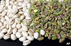 Pistachio nuts are popular around the world.