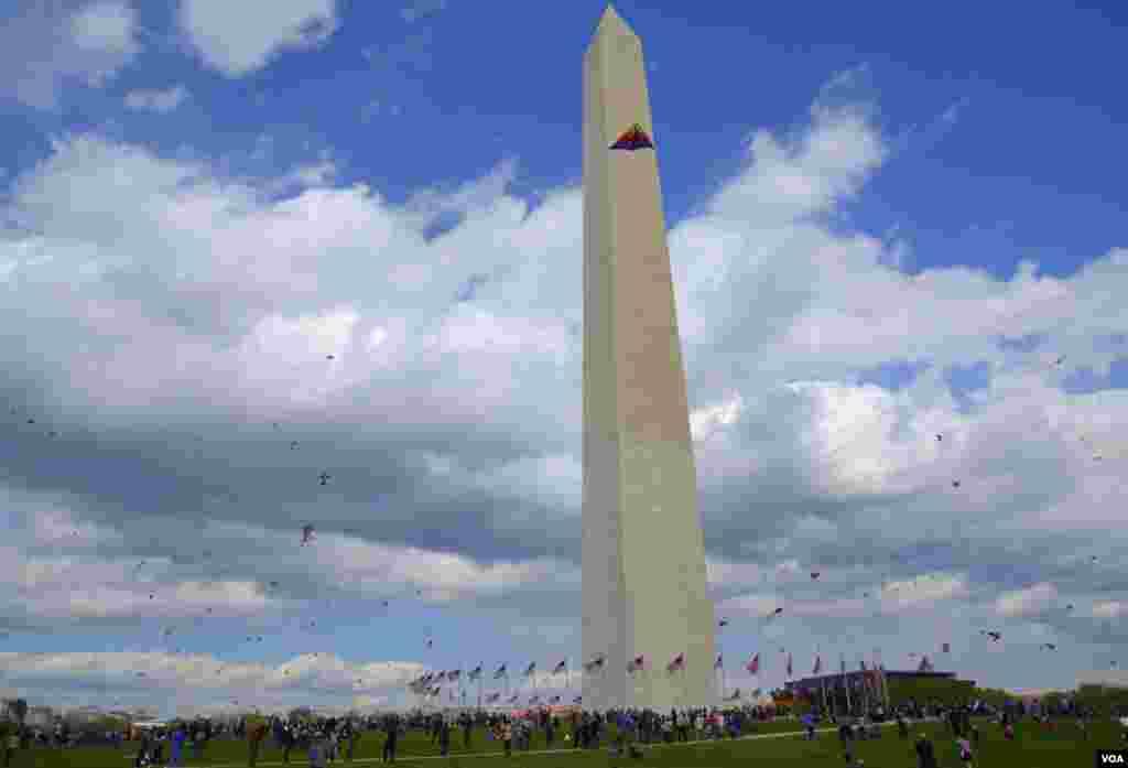 Фестиваль воздушных змеев в Вашингтоне