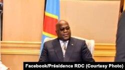 Félix Tshisekedi à Kinshasa, en RDC, le 6 septembre 2019.