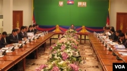 The Cambodian Ministry of Foreign Affairs held a meeting on border issues to be discussed with Thailand.