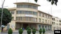 Kantor Kementerian Penerangan Eritrea di ibukota Asmara direbut oleh tentara pemberontak hari Senin 21/1 (foto: dok).