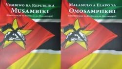 Constituição da República disponível em Emakhuwa e Changana
