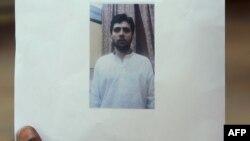 Gambar Yasin Bhatkal, tersangka teroris terkait serangkaian serangan bom di Inida, termasuk bom Mumbai, bulan Juli 2013 (Foto: dok).