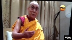 達賴喇嘛接受俄羅斯電視台採訪