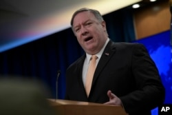 Secretary of State Mike Pompeo says, May 1, 2019, the United States is prepared to intervene militarily to stem the ongoing unrest in Venezuela.