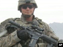 Tyler Anderson lost his leg while on patrol in Kandahar Province, Afghanistan.