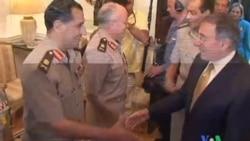 2011-10-05 粵語新聞: 美防長敦促埃及解除緊急狀態法