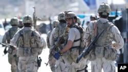 نظامیان امریکایی، کماندوهای افغان را در منطقه بی مانند خوانده اند