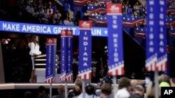 La Convención Nacional Republicana en Cleveland, Ohio, culmina el jueves con la nominación de Donald Trump para la presidencia de EE.UU.