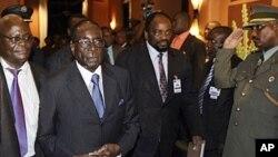 Presidente Robert Mugabe