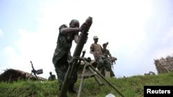 Des rebelles du M23 dans le Nord-Kivu (Archives)