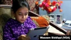 Phúc trình của UNICEF. Ảnh Waseem Siddiqui (VOA)