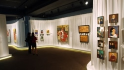 "A view of the ""Revealing Culture"" exhibit at the Smithsonian Institution's S. Dillon Ripley Center in Washington"