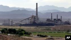 미국 네바다 주에 있는 화력발전소 (자료사진)