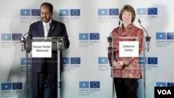 Somali President/ Ashton