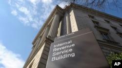 Trụ sở của Sở Thuế Liên bang tại thủ đô Washington.
